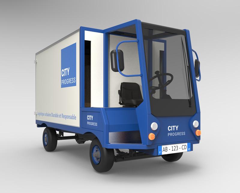 Cityprogress - Nouveaux défis de la livraison en centre-ville